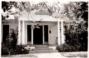 The Zádor home on Sycamore Avenue in Hollywood