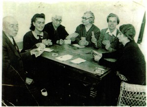 From left: the composer's father, Josef Zádor; niece Lili; mother, Pauline Bierman Zádor; sister Ida Zucker; nephew's wife Erzsi Engel;sister Marishka Engel